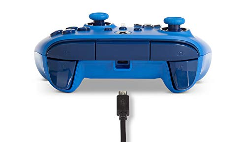 PowerA Enhanced Wired Controller for Xbox - Blue, Gamepad, Wired Video Game Controller, Gaming Controller, Xbox Series X|S, Xbox One - Xbox Series X