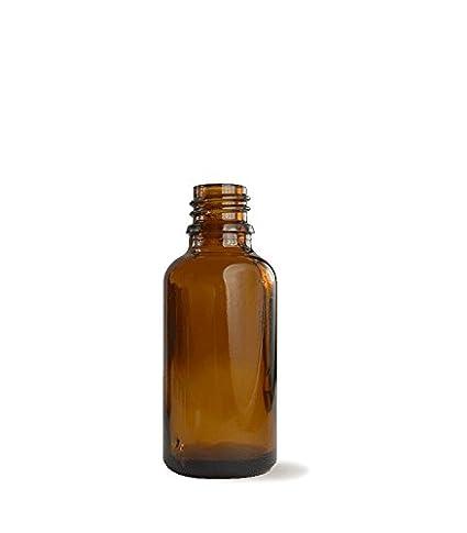 Botella cristal 30 ml color ámbar uso Farmacéutico y Alimentario - Tarifa plana envíos