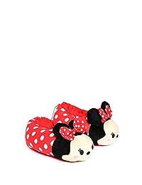 Disney- Pantufla Roja Pantufla para Niñas