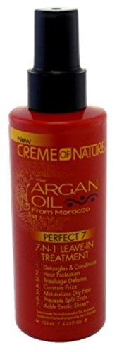 Creme Of Nature Argan Oil Leave-In 7-N-1 Treatment 4.23 Ounce (125ml) (6 Pack)