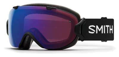 Smith Optics I/Os Adult Snow Goggles - Black/Chromapop Photochromic Rose Flash
