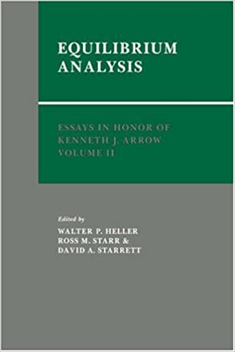 Book Essays in Honor of Kenneth J. Arrow: Volume 2, Equilibrium Analysis: Equilibrium Analysis v. 2