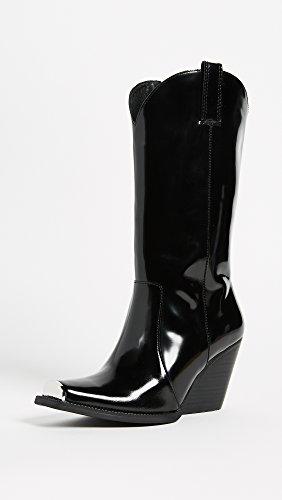 Jeffrey Campbell Dames Overkill Western Boots Black Box
