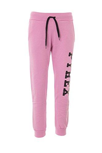 Pantaloni Fit Con Pyrex Stampa 33021 Rosa Donna Regular 4wdqpz