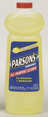 Parsons Ammonia All Purpose Cleaner 00855 28 Ounce Ammonia All Purpose Cleaner