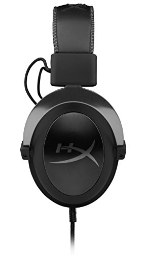 HyperX Cloud II Gaming Headset - 7.1 Surround Sound - Memory Foam Ear Pads - Durable Aluminum Frame - Works with PC, PS4, PS4 PRO, Xbox One, Xbox One S - Gun Metal (KHX-HSCP-GM) (Renewed)