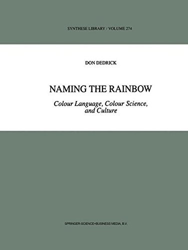 Download Naming the Rainbow – Colour Language, Colour Science, and Culture (Synthese Library) Pdf