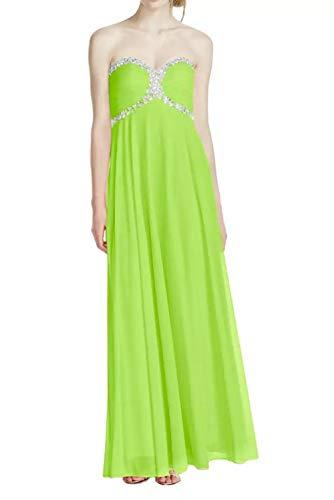 Bodenlang Abiballkleider Herzausschnitt Elegant Marie Abendkleider La Promkleider Gruen Festlich Linie A Pailletten Braut Lemon Rock 0wa08q
