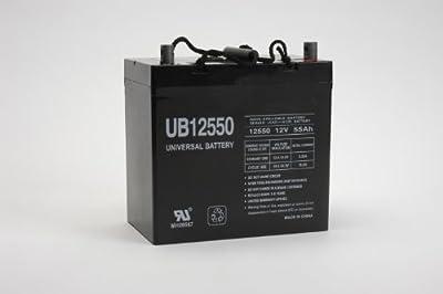 UPG UB12550 (Group 22NF) Battery - Universal Battery - 12V 55Ah [Electronics]