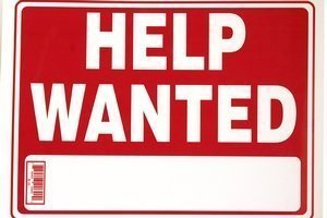 BAZIC Help Wanted Sign 2 Pack