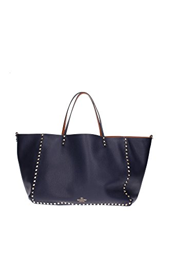 HWB00625AVSA03M05 Valentino Garavani Shoulder Bags Women Leather Blue