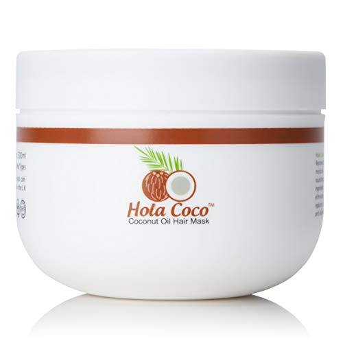 Hola Coco Coconut Oil Hair Mask: Deep Conditioning Treatment - The Perfect...