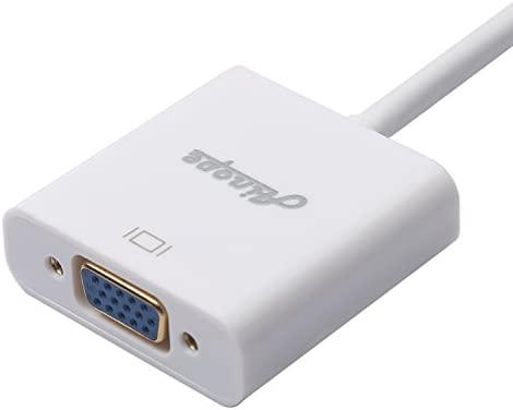 ainope Mini DP a VGA convertidor (Thunderbolt) Mini DisplayPort ...