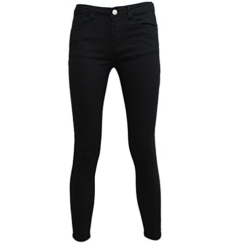 Xl Zhang Muying L Colorato Nero Donna Jeans Xs S M Skinny wwzrpCq