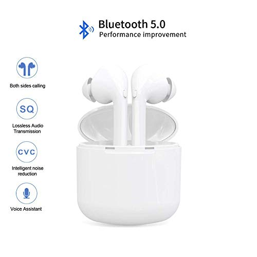 i9X Wireless Bluetooth Headset, Wireless Headset,Sports Headset, for Men and Women, for Apple Airpods Android/iPhone.