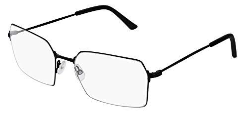 Balenciaga BB0033O Eyeglasses 001 Black-Black 56mm