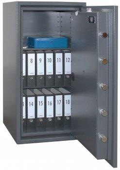 Caja fuerte con llave, certificado Allo scasso en1143 - 1 ...