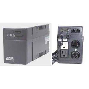 - Powercom BNT-800AP, 3UPS+1Surge 800VA