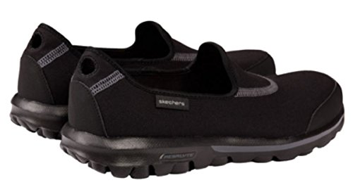 Skechers Performance Dames Go-glitz Slip-on Wandelschoen Zwart