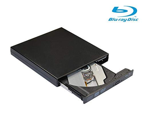 Blu ray dvd Drive,Ploveyy USB 2.0 Ultra Slim BD ROM DVD-RW CD-RW Drive Writer in Black for Macbook Netbook, Notebook, Desktop, Laptop, Plug and Play (Black) by Ploveyy (Image #6)