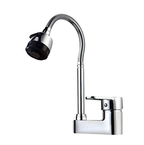 Water Tapkitchen Faucet Hot and Cold Wash Basin Faucet 360 Degree redation Faucet Kitchen Sink Faucet Washbasin Mixer