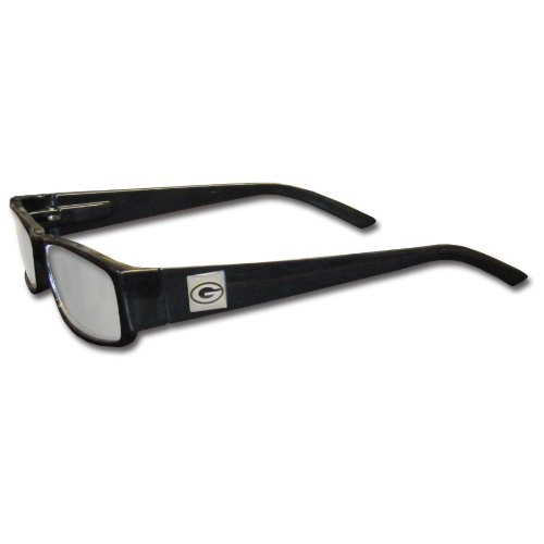 NFL Black Reading Glasses (+1.50, Green Bay Packers)