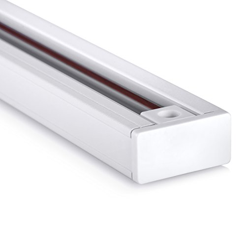 Hyperikon Track Lighting Section, 4ft H Track Rail, White Single Circuit 3-Wire Track Rail (Pack of 4) by Hyperikon (Image #5)