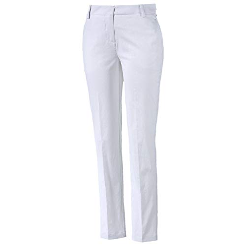 (PUMA Golf Women's Pounce Pants, Bright White, Size 14)