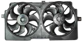 TYC 620170 Buick Replacement Radiator/Condenser Cooling Fan Assembly