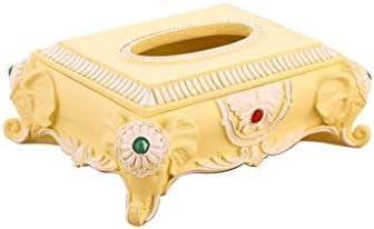 WSZJJ Caja de Papel Caja de Papel de Resina Caja de Papel de servilleta Simple: Amazon.es: Hogar