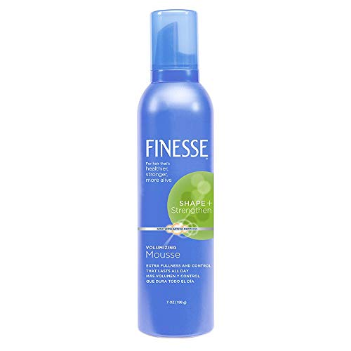 (Finesse Volumizing Mousse With Active proteins Shape plus Strengthen 7 Oz(Pack of)