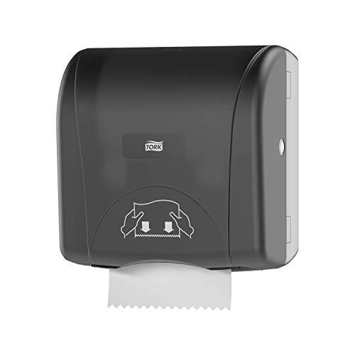 - Tork 774828 Mini Mechanical Hand Towel Roll Dispenser, 12.5
