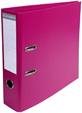 Prodbuy - Archivador de Documentos (A4, 70 mm, 3 Unidades), Color Morado