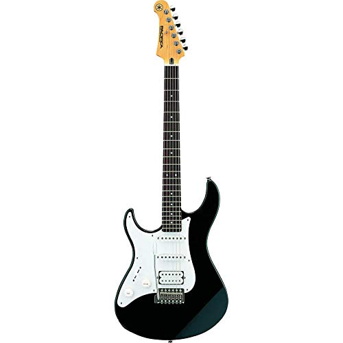 Yamaha Pacifica PAC112JL BL Left-Handed Electric Guitar, Black