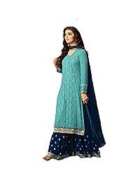 a0c8cee36a2 ziya Indian Pakistani Ethnic wear Georgette Plaazo Salwar Kameez