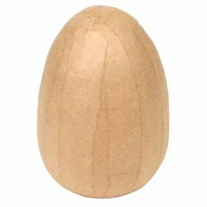 Paper Mache Craft Eggs (Set of 6) Factory Direct Craft
