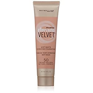 Maybelline New York Dream Velvet Foundation, Creamy Natural, 1 Fluid Ounce