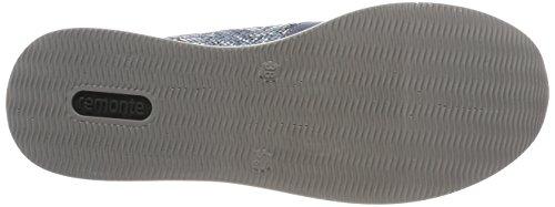 Scarpe Donna Adria D2501 Stringate Remonte Adria Argento Oxford Blu zAq4a