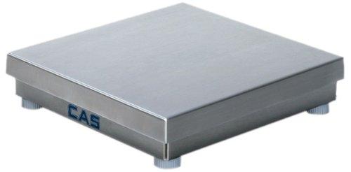 CAS DXL-10010 DXL Series Stainless Steel Enduro Scale Bases, 10lb Capacity, 10'' L x 10'' W