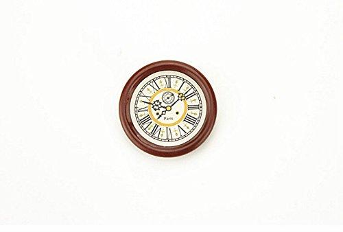Sécurité matérielle Accessoires de maison de poupée Mini horloge murale Dreemaro