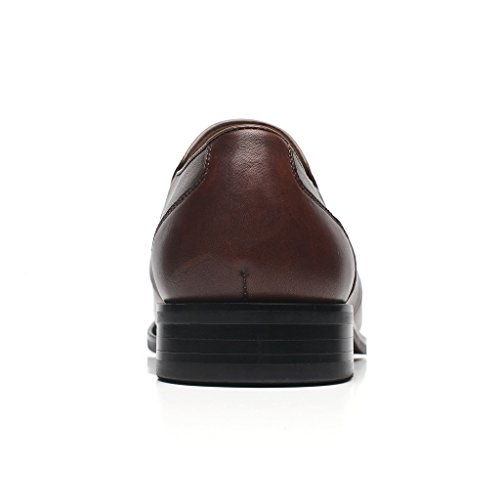Vecno Up Wingtip Men Leather Lace Modern Toe Casual Business 2 For Oxford Classic Cap Shoes La brown Dress Mens Milano 0Bqwa1T