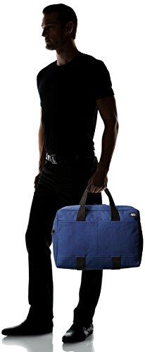 Jack Spade Men's Bonded Cotton Duffle Bag, Navy/Tank, One Size by Jack Spade (Image #6)