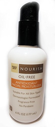 Trader Joe's Nourish Oil-Free Antioxidant Facial Moisturizer (Pack of 2)