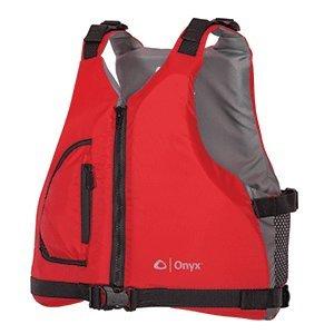 Onyx Youth Paddle Sports Life Jacket, Red