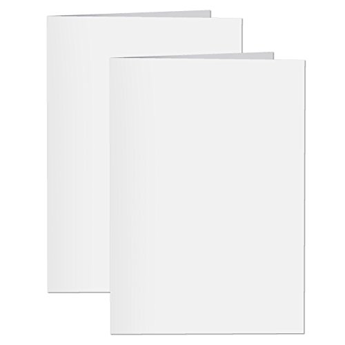 Inventiv 30 Second Recordable DIY Greeting Card, Voice Recorder Card Module, Blank White / Apply Custom Design Artwork (2 Pack) Voice Message Card