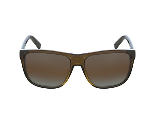 Vuarnet sunglasses VL 1501 0004 Acetate Transparent Green Brown with Mirror - Sunglasses Grease
