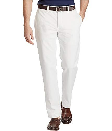 Ralph Lauren Classic Chino - Polo Ralph Lauren Mens Classic Fit Flat Front Chino Pants White 33/32