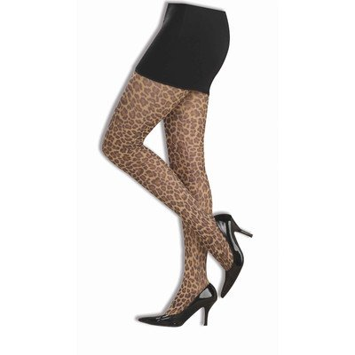 Punk Rock Leopard Pantyhose ()