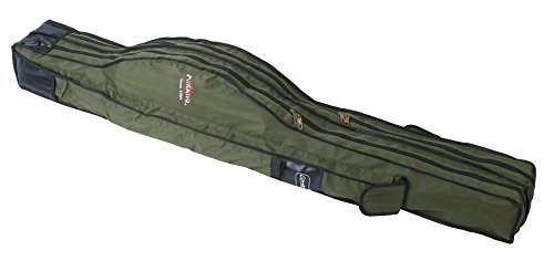 Cañas funda Mikado Carp Fineline 2compartimentos–Funda para caña para pesca 160–205cm