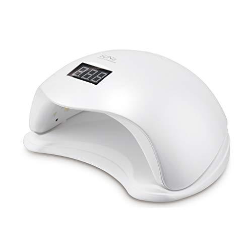 行政確認ランダム48WLED爪光線療法機、ペディキュア爪乾燥機UVインテリジェントな自動センサー4タイマー設定